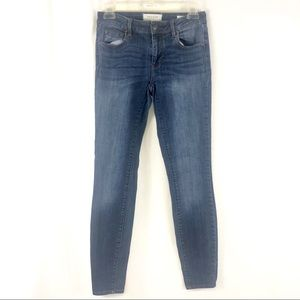 Pacsun midrise skinniest stretch ankle jeans 23x28
